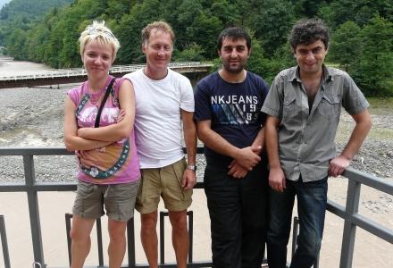 autostop w Gruzji, wolontariat w Gruzji, Martyna Skura, blog podróżniczy