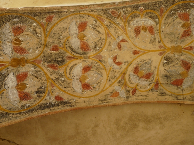 Davit Gareja freski zabytki w Gruzji