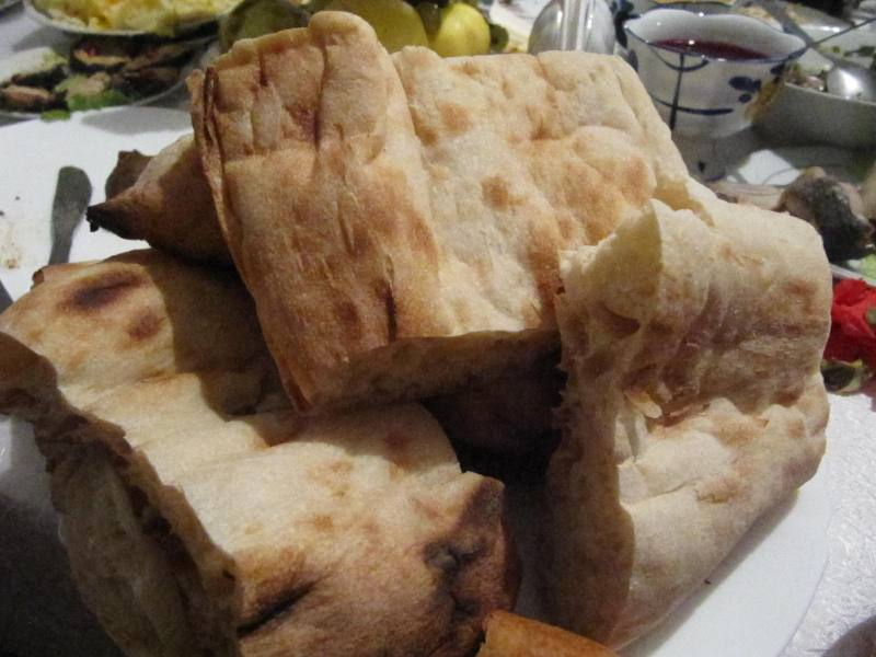 tonis puri chleb wesele Gruzja jedzenie