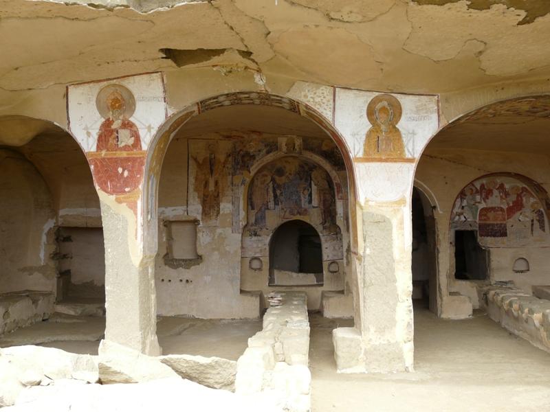 freski Davit Gareja Gruzja zabytki