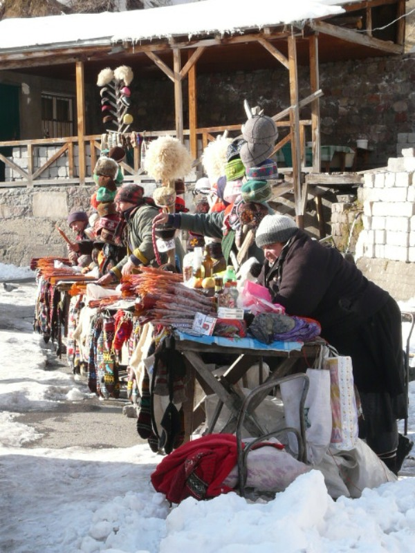 Gruzja folklor Kazbegi