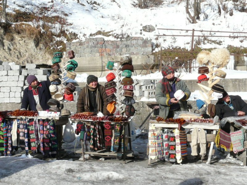 Gruzja folklor rękodzieła Kazbegi