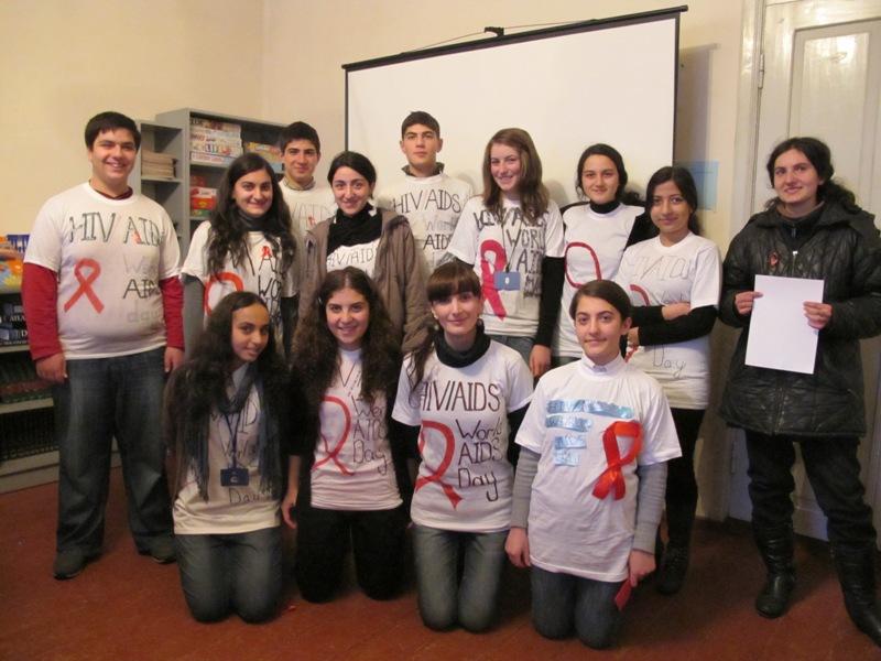 AIDS Gruzja młodzież