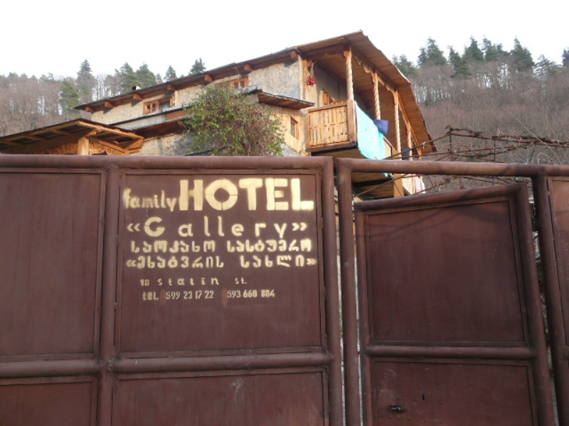 Family Hostel - nasz guesthouse w Oni