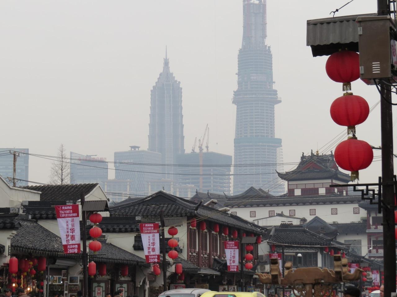 Szanghaj, zanieczyszczenia powietrza w Chinach, Chiny zanieczyszczenia, ekologia Chiny, zanieczyszczone powietrze w Chinach