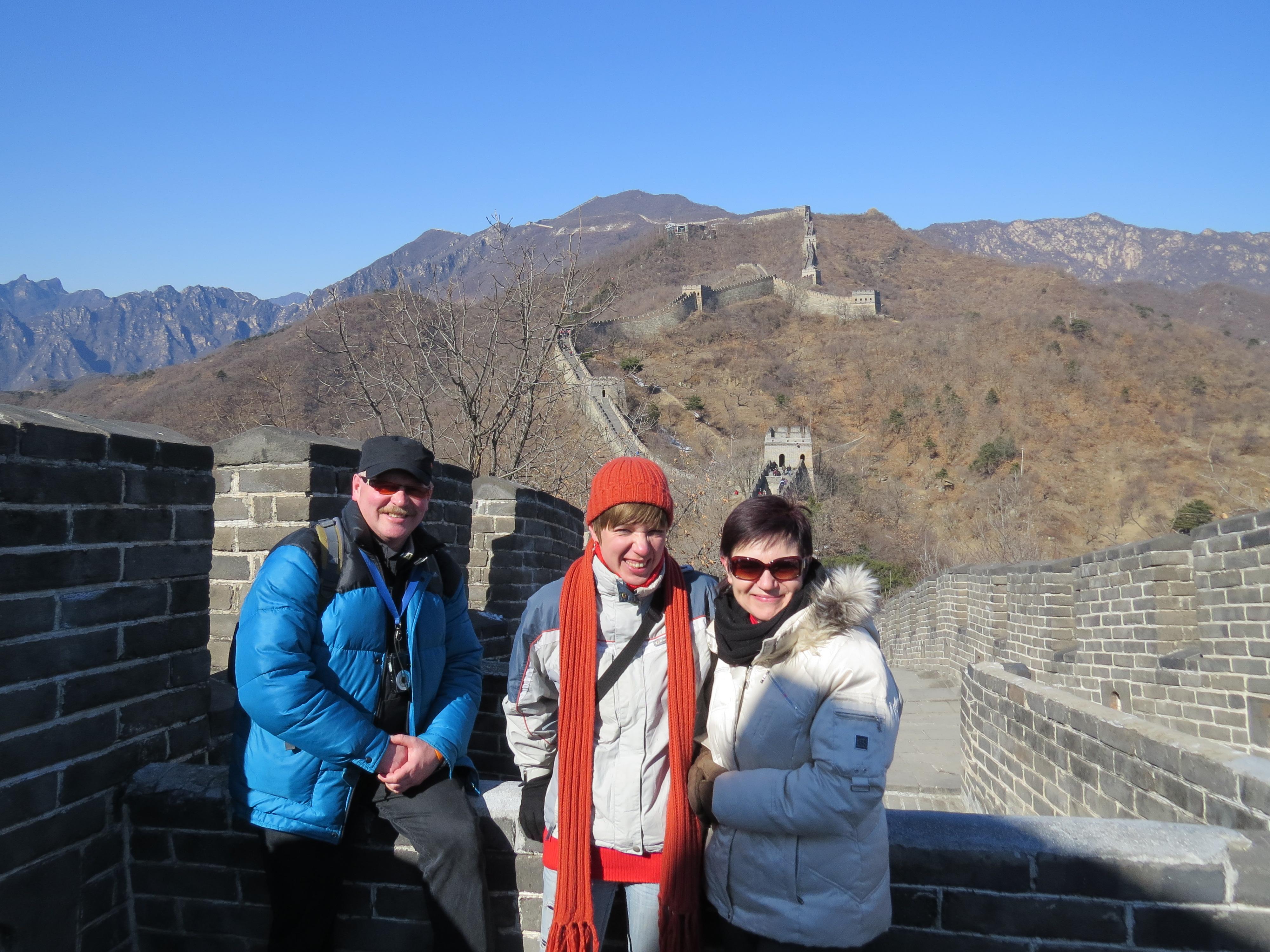 Wielki Chiński Mur - wycieczka z rodzicami na Chiński Nowy Rok