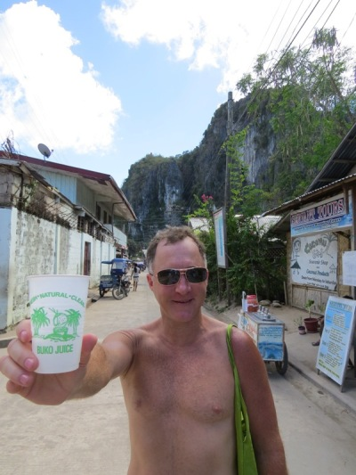 Buko juice - świeży sok kokosowy