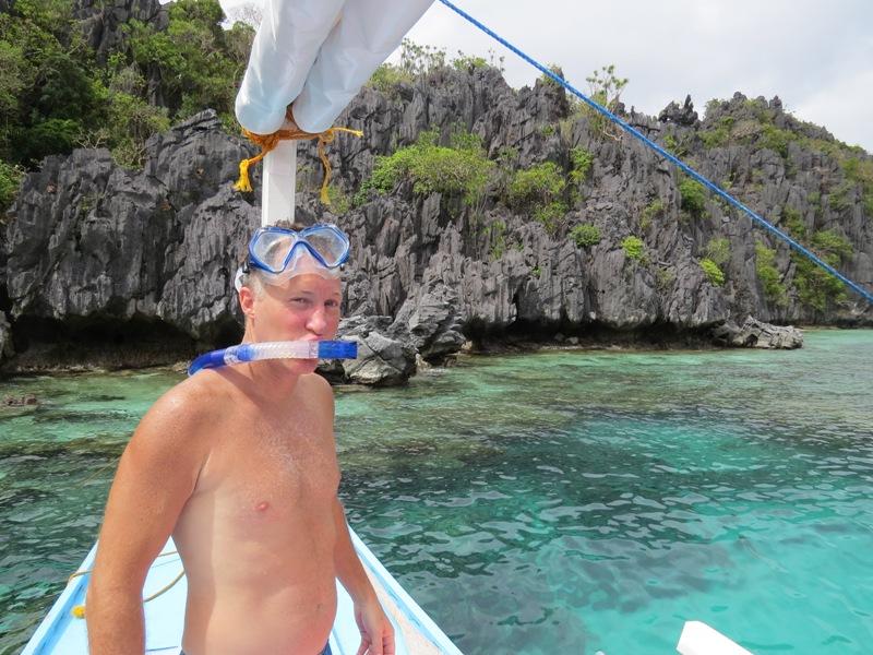 Mała Laguna, w której nurkowaliśmy i oglądaliśmy życie na rafie koralowej - cudo!