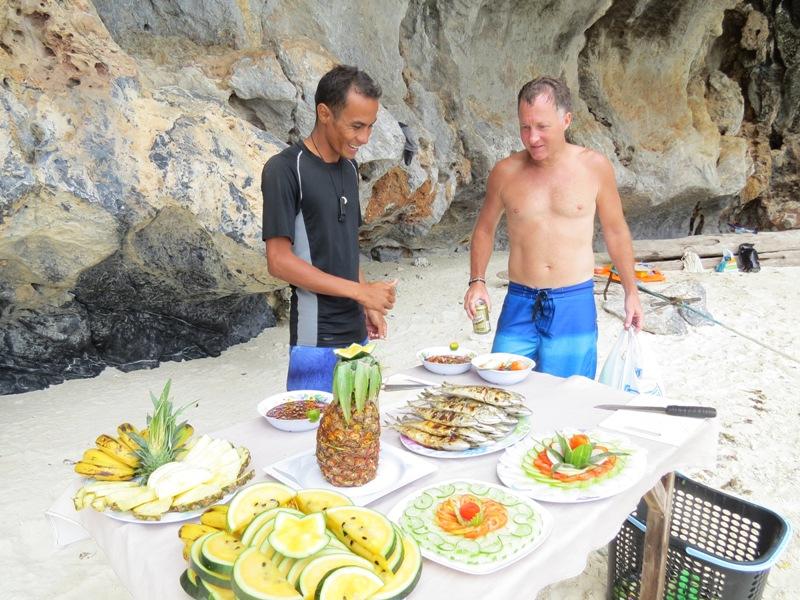 Lunch przygotowany przez naszych przewodników