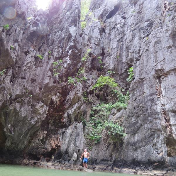 Ukryta Laguna, była bardzo wysoka!a