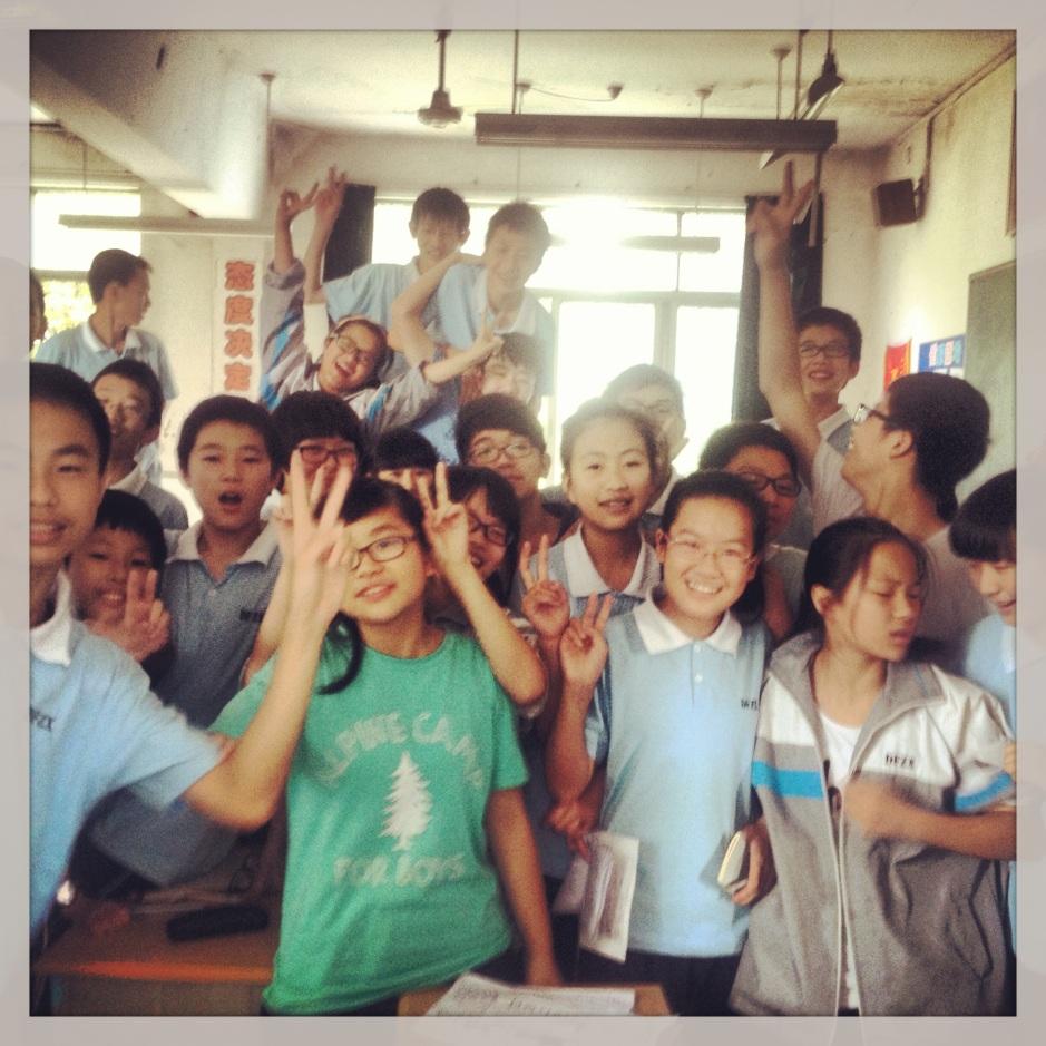 Klasa 3. Czasem czułam się tam jak w ZOO. Oni twierdzili, ze tak się ekscytują na moich lekcjach :)