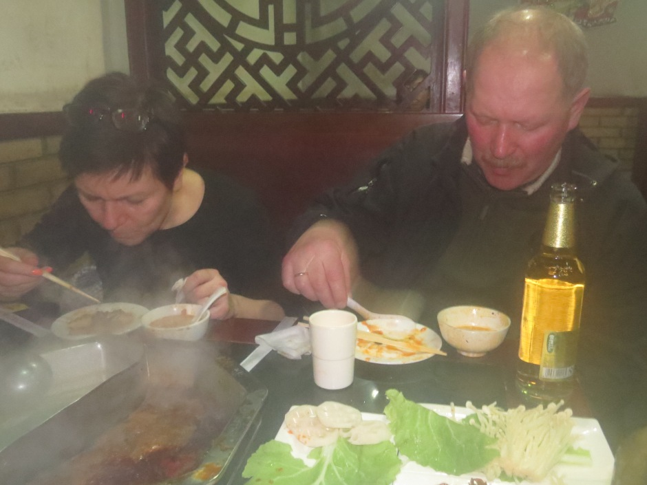 Hot pot w Hangzhou