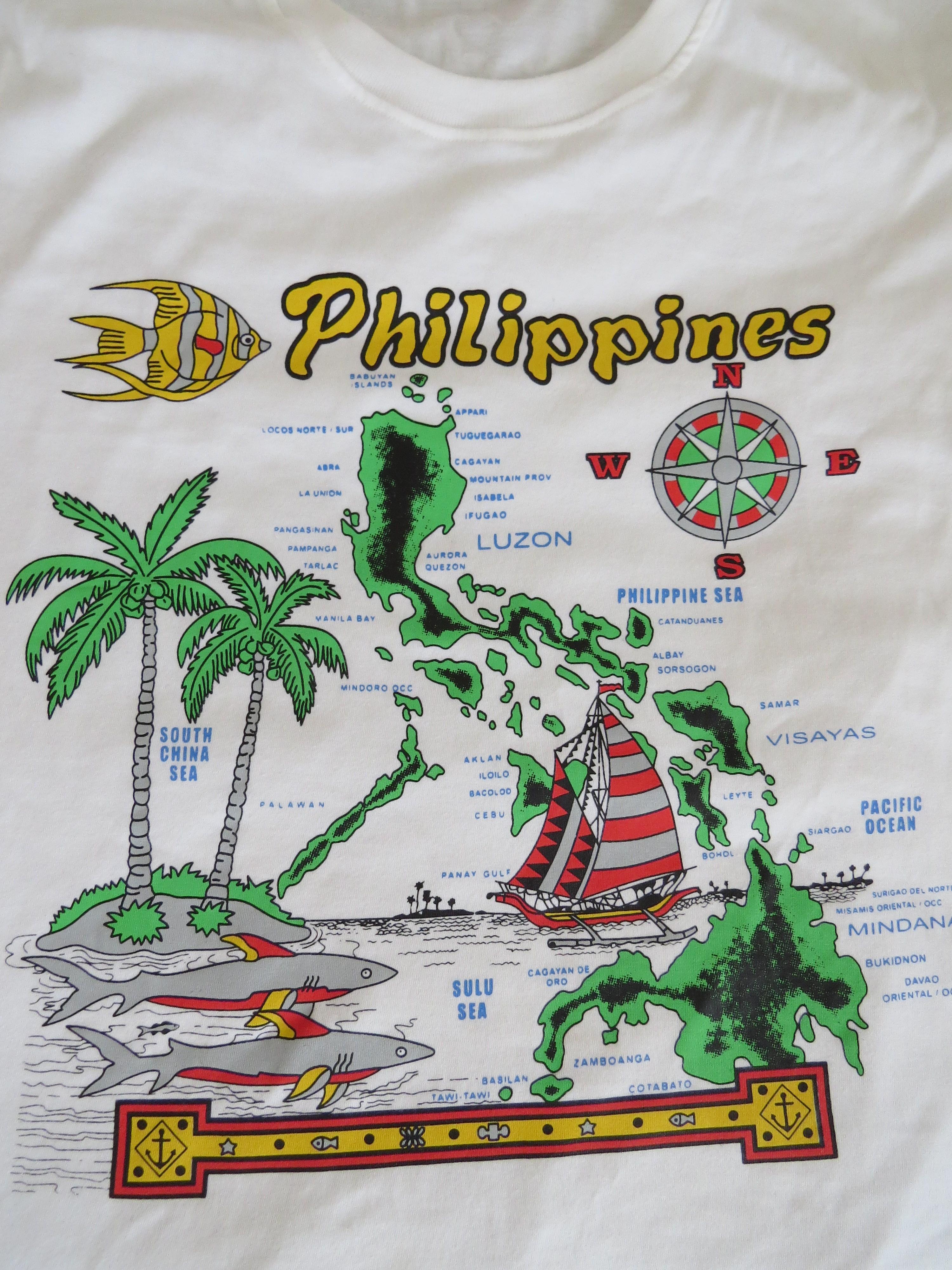 Koszulka z mapa Filipin