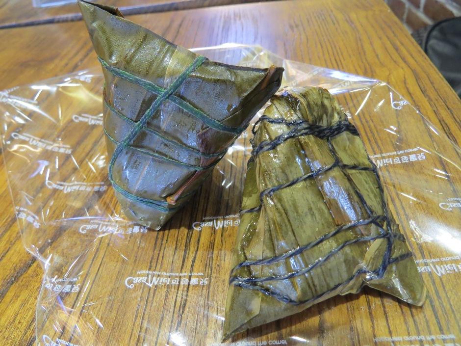 Zong zi - pierożki ryżowe zawijane w liście