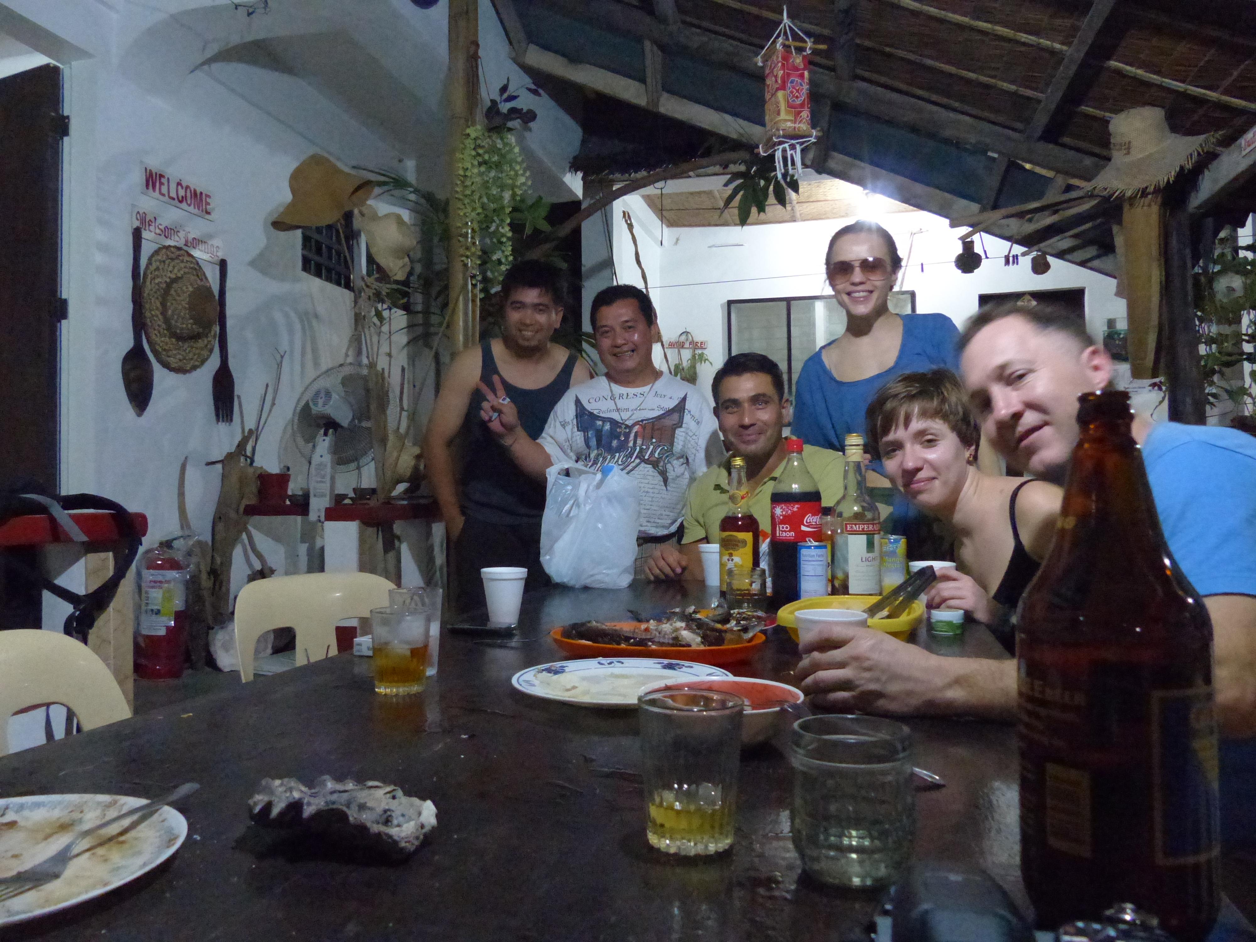 Wieczór spędzony w towarzystwie Filipińczyków :)