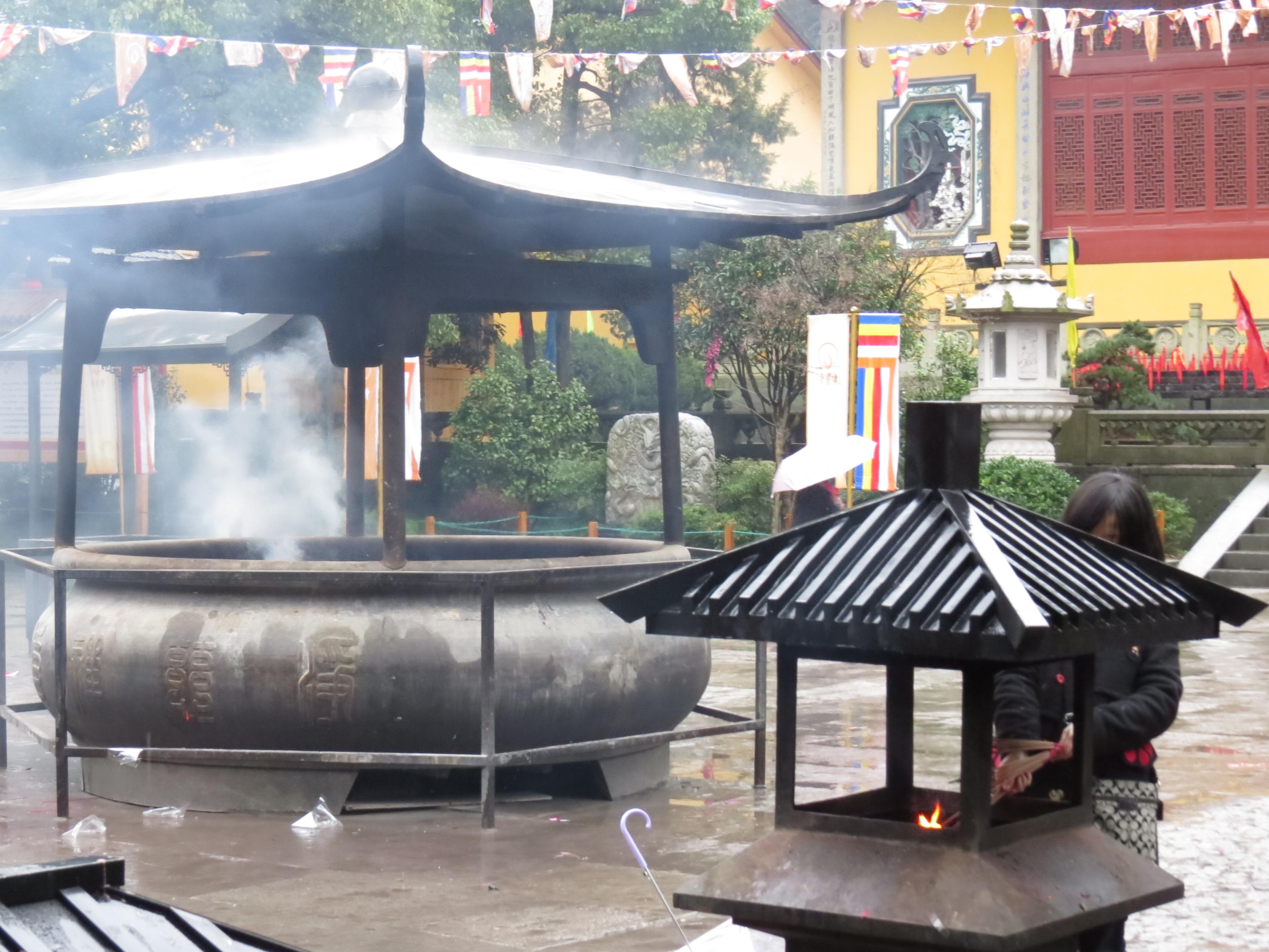 Świątynia na południu Hangzhou