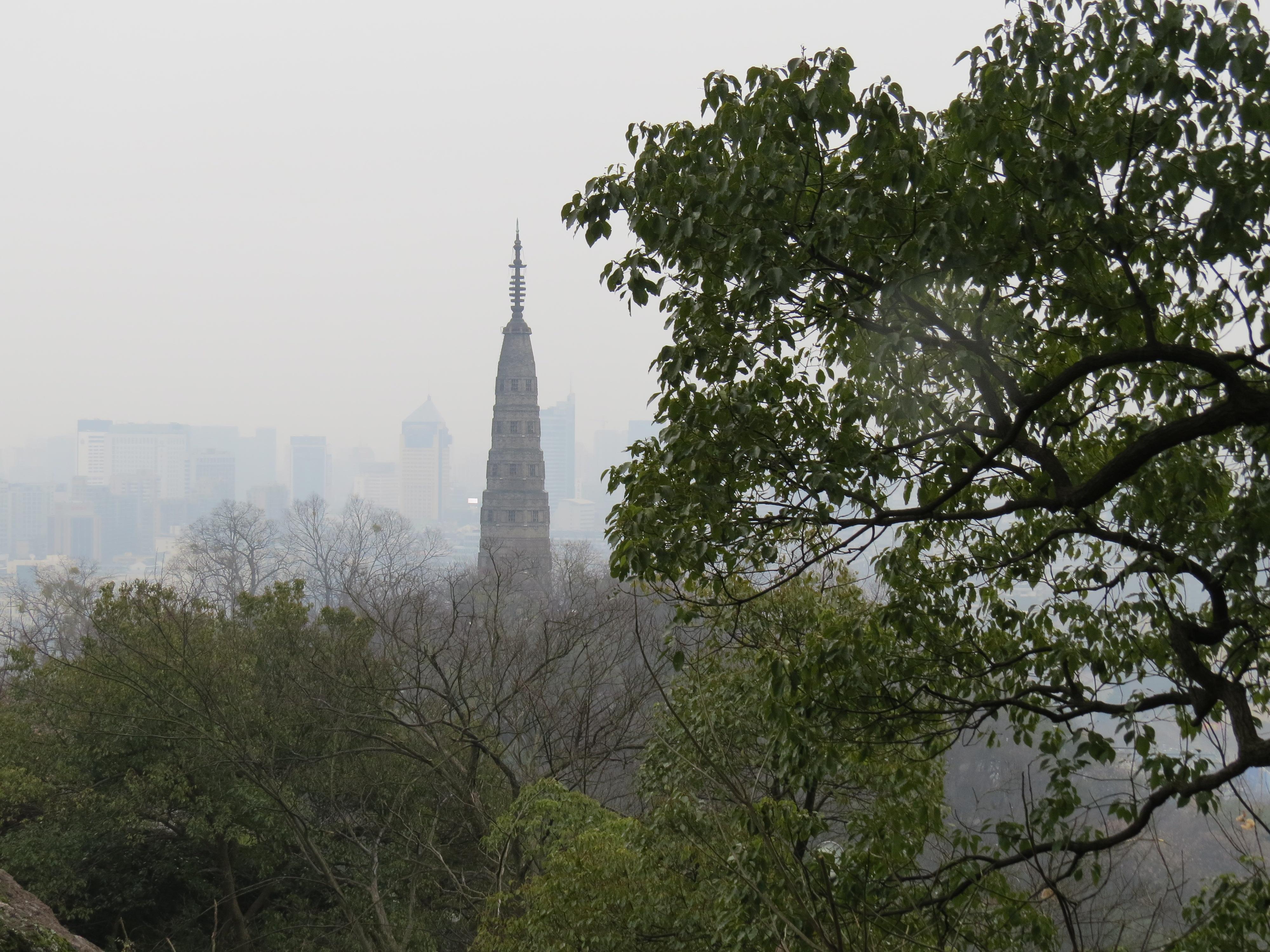 Pagoda na wzgórzach Hangzhou