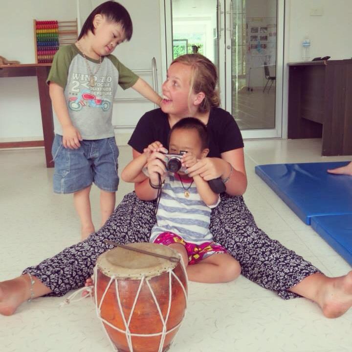 Podczas fizjoterapii z dziećmi