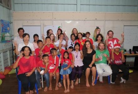 Wszyscy uczniowie i wolontariusze