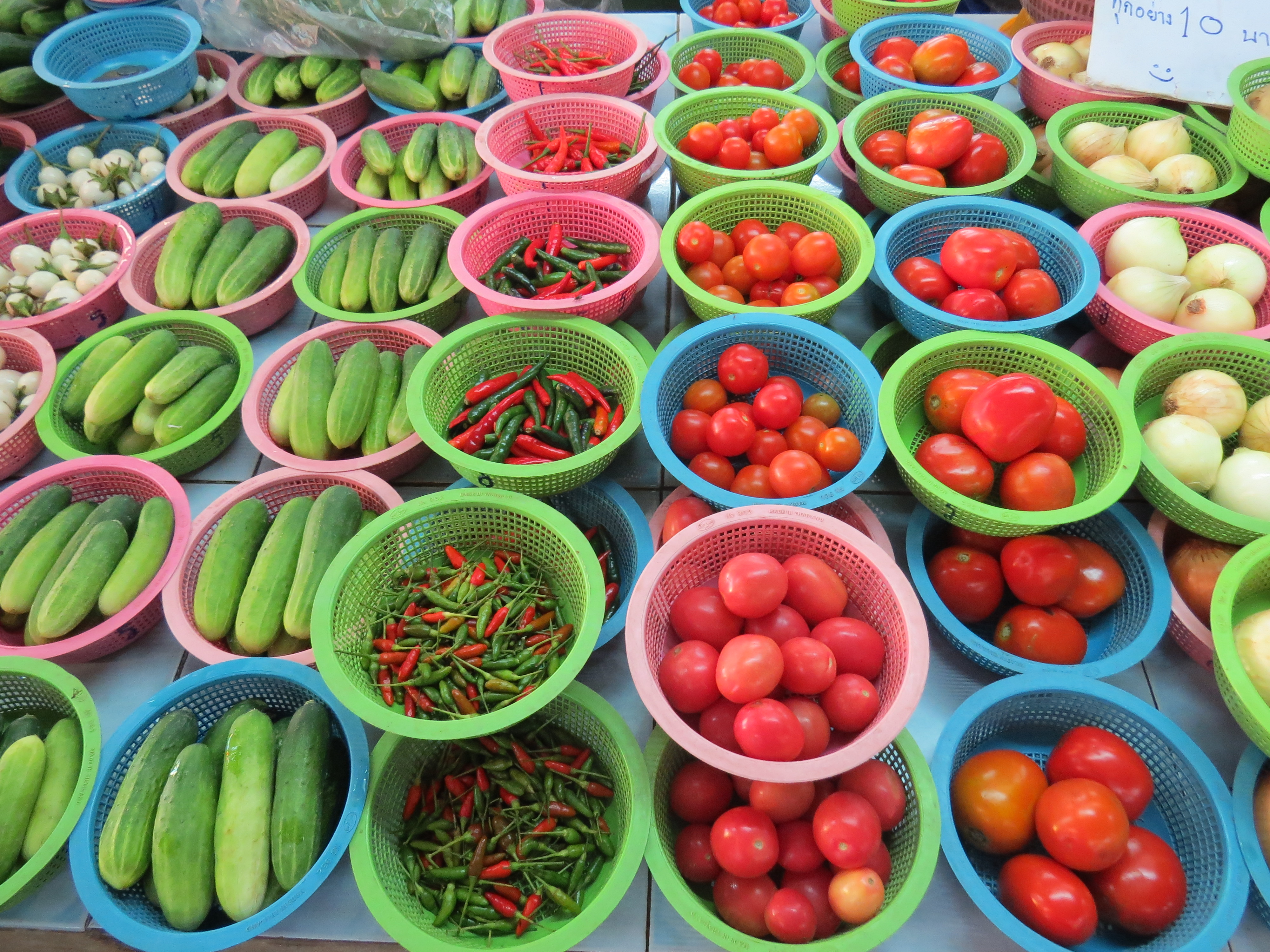 Swieze warzywka