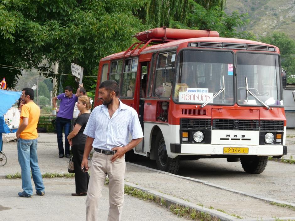Armenia, transport w Amrenii, Autostop w Armenii, autostop na Kaukazie