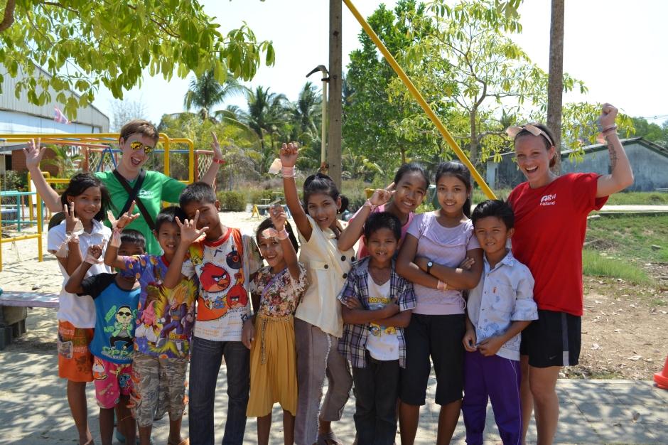 Imigranci z Birmy w mojej tajskiej wiosce.