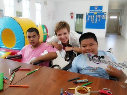 Tajlandia, dzieci w Tajlandii, młodzież w Tajlandii, osoby niepełnosprawne w Tajlandii, Camillian Center