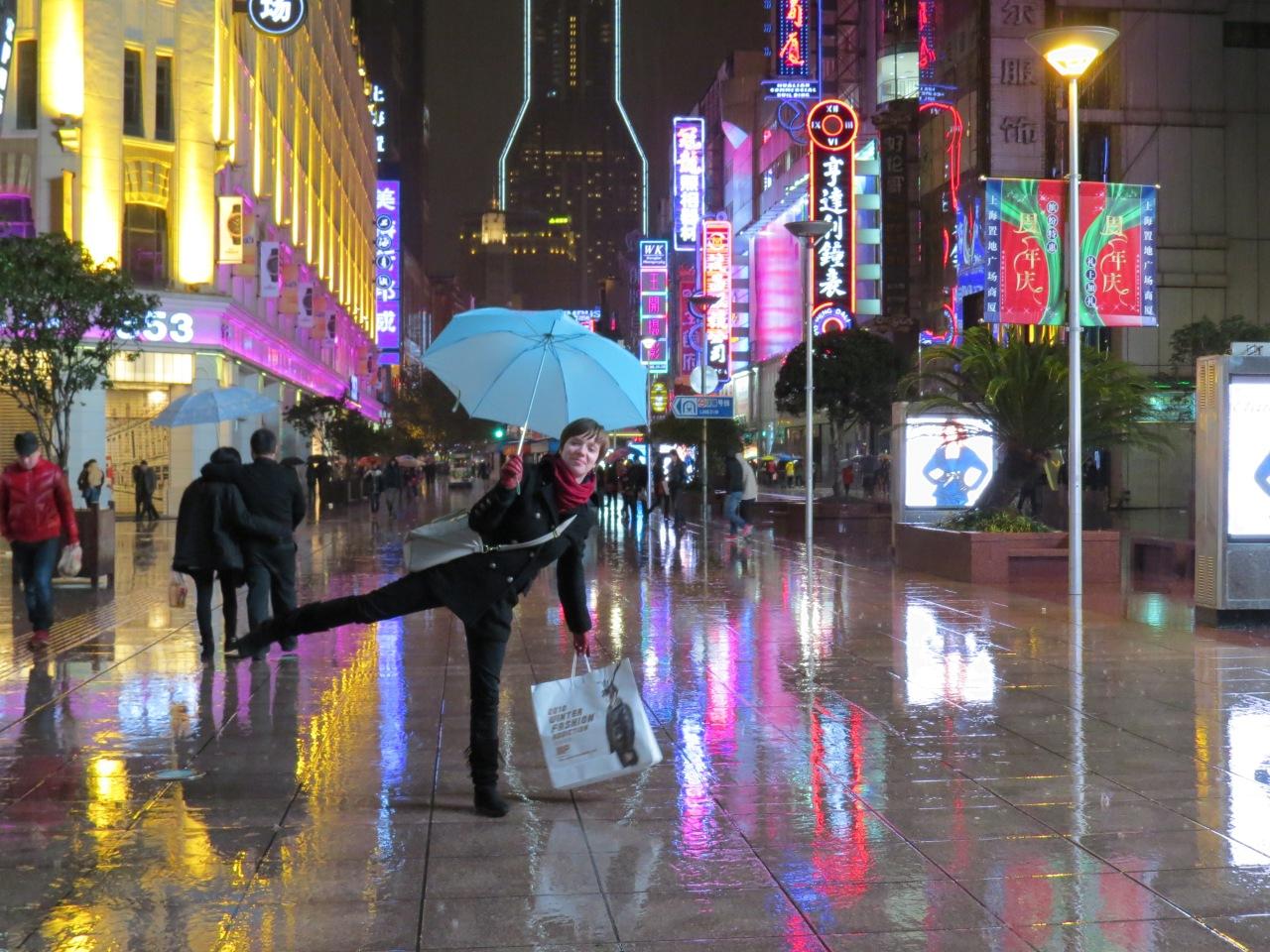 Szanghaj, Chiny, chiński Times Sq.