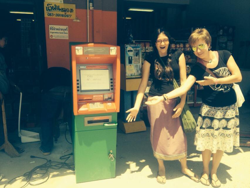 Bankomat w Ban Nam Khem! To miejsce już nigdy nie będzie takie samo!