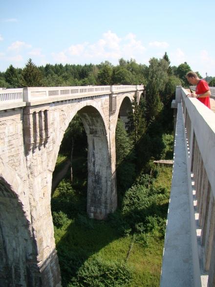 Stańczyki, Polska, mosty w Stańczykach