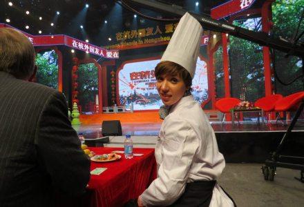 kuchnia chińska, TV w Chinach, Hangzhou, Chiny,