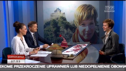 Martyna Skura, podróże, TVP Gdańsk