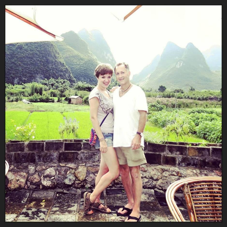 zaręczyny w Chinach, Chiny, pola ryżowe, Yangshuo, Guilin