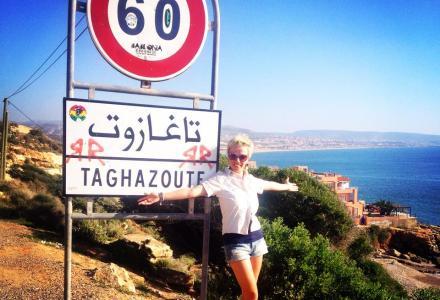 Maroko, Taghazhout, Agadir, Martyna Skura, blog podróżniczy