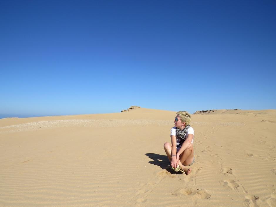 Maroko, Agadir, Taghazout, Chill Villa, wydmy