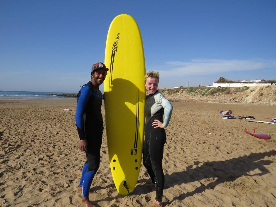 surfing, Taghazhout, Maroko, instruktor surfingu