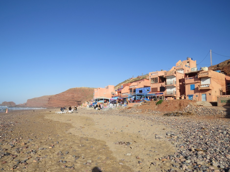 plaża Legzira, Maroko, Sidi Ifni, Martyna Skura