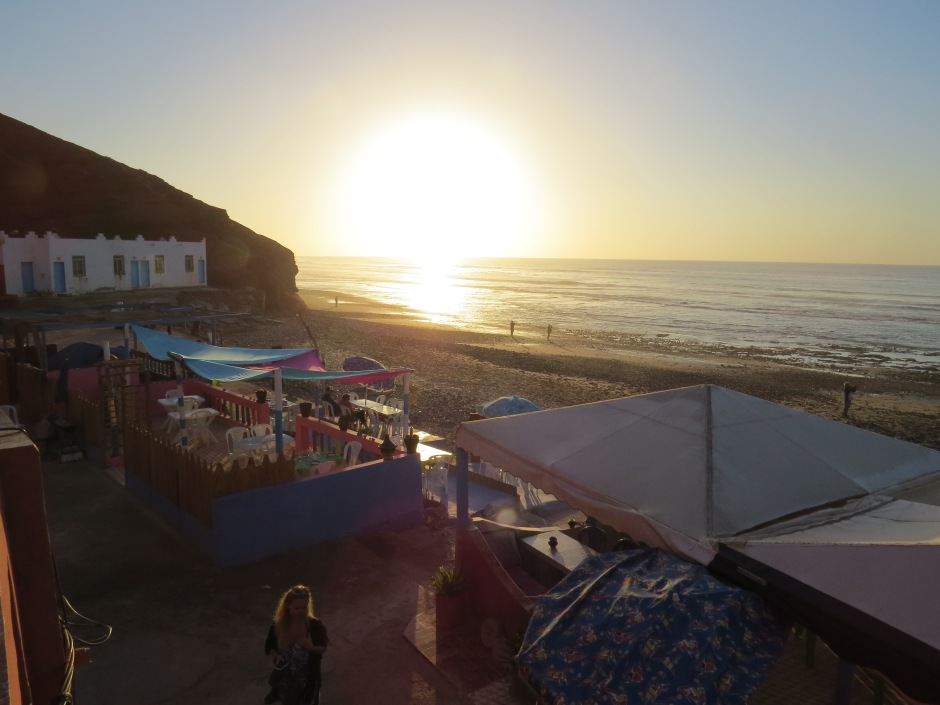 zachód słońca Legzira, plaża Legzira, Martyna Skura