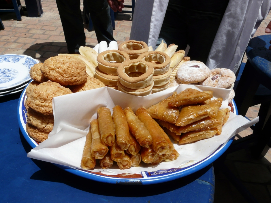 marokańskie słodycze, Maroko,  Martyna Skura, blog podróżniczy, Podróże Obieżyświatki