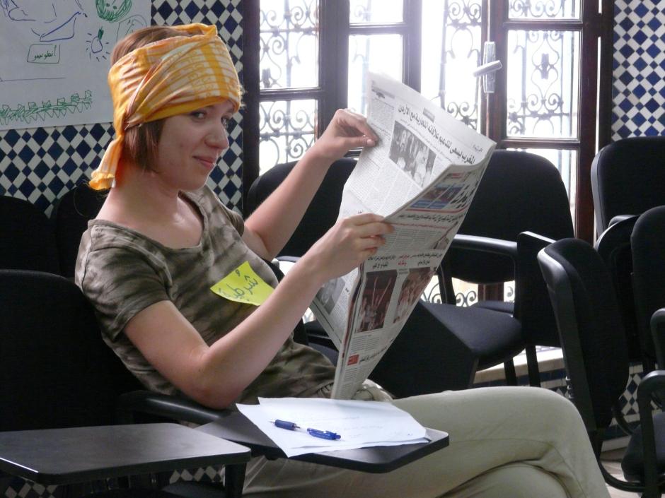 Maroko, nauka arabskiego, podróże, Martyna Skura,
