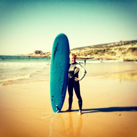surfing, Maroko, Taghazout
